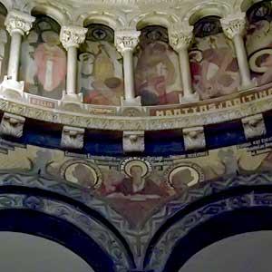 La Cattedrale - Cupola (dettaglio)