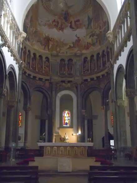 La Cattedrale - Navata centrale